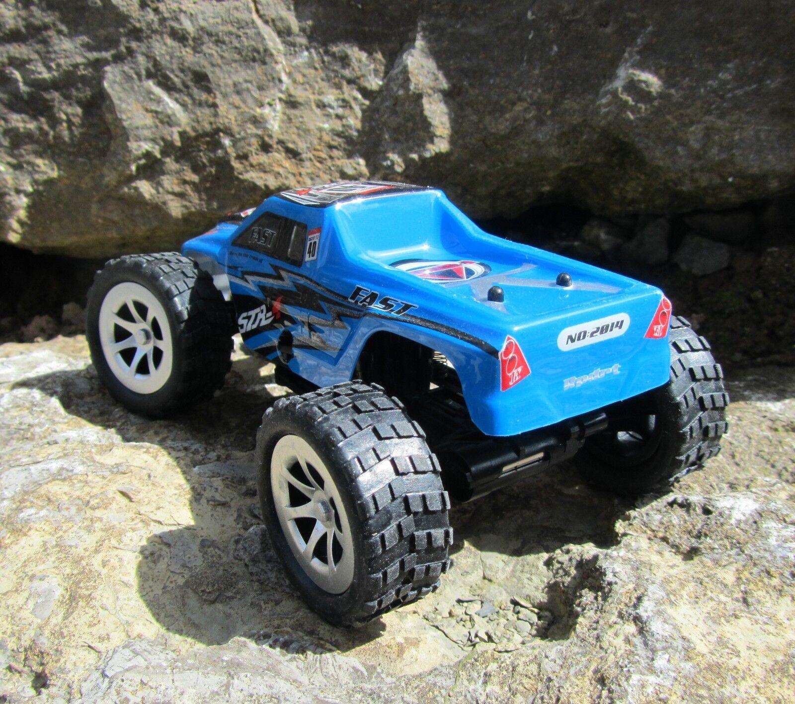 Ferngesteuert Modell XT-Cars Trusher Trusher Trusher 15cm Länge 1 24 RC Auto 2 4 GHz 50110 b3929d