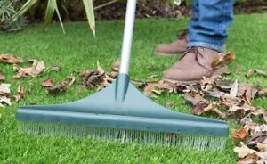 Artificial-Grass-Brush-Rake-for-Astro-Turf-Fake-Grass-with-Telescopic-Handle