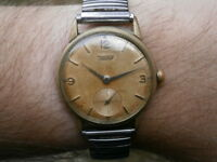 Vintage gents wristwatch TISSOT mechanical watch working 27 B-1 swiss made