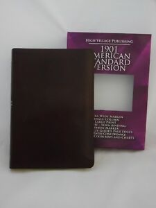 1901-American-Standard-Version-Bible-Wide-Margin-Burgundy