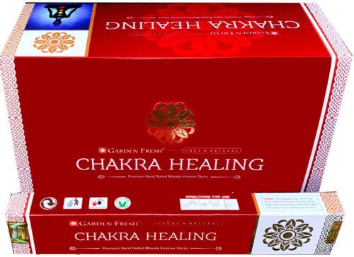 3 boîtes d/'Encens Garden Fresh Chakra Healing masala 15g