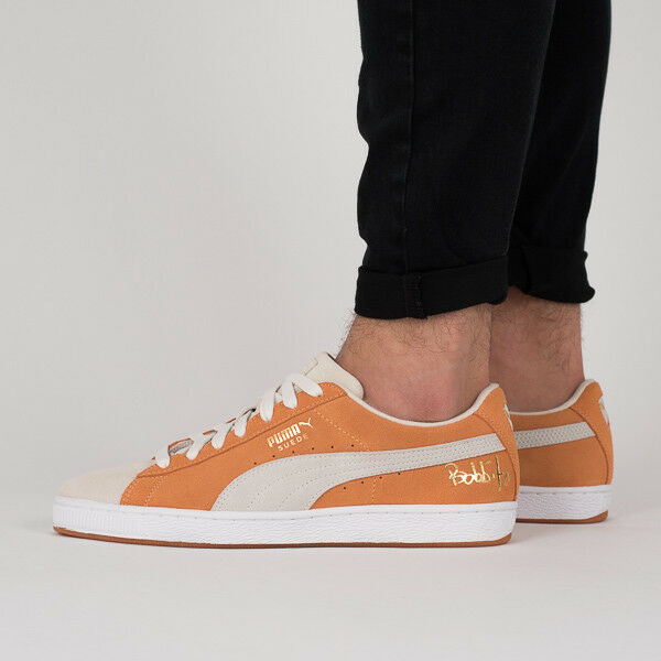 f46c878cb8b8 PUMA PUMA X Bobbito Classic Suede Men Low Boot Orange 9.5 for sale online