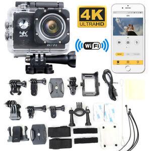 ULTRA HD 4K 1080p WIFI Waterproof Sports Action Video Camera