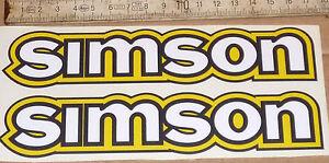 Details Zu S50s50bs50ns50b1aufkleberaufklebersatztankaufklebersimsons51oldtimer