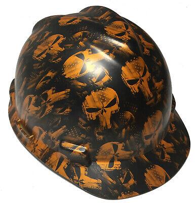 Hydro Dipped MSA Cap Style VGuard Hard Hat Trump W// Free BRB TShirt
