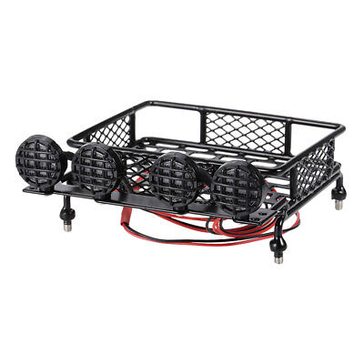 1:10 Roof Rack Luggage /&Light Bar for RC HPI CC01 AXIAL SCX10 RC4WD REDCAT