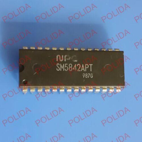 1PCS Audio Multi-function Digital Filter IC NPC DIP-28 SM5842APT