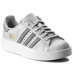 0bf0748e27f6 Image is loading ADIDAS-SUPERSTAR-BOLD-PLATFORM-LOW-SNEAKERS-WOMEN-SHOES-
