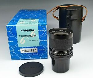 KOMURA-LENS-FOR-BRONICA-S2-200-3-5