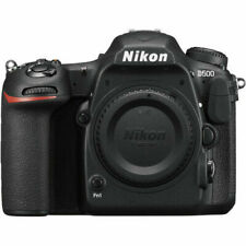 Nikon D500 20.9MP Digital SLR Camera - Black (Body Only)