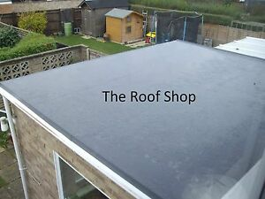 Epdm Rubber Roof Kit Extension Shed 15 Different Sizes Flat Roofing Membrane Ebay