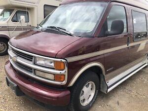 1996 Chevrolet Cheyenne high level camperized custom