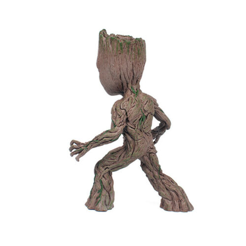 2 Baby Groot Figure Statue Collectable Toy Gift Guardians of The Galaxy Vol