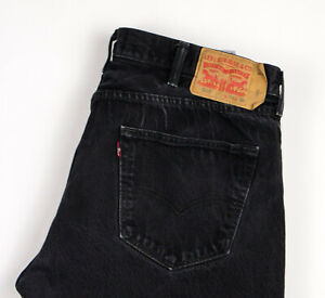 Levi-039-s-Strauss-amp-Co-Hommes-501-Jeans-Jambe-Droite-Taille-W38-L30-APZ1127