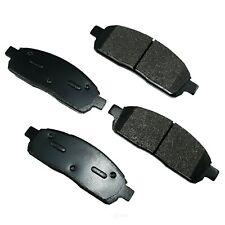 Disc Brake Pad Set-ProACT Ultra Premium Ceramic Pads Front Akebono ACT1396