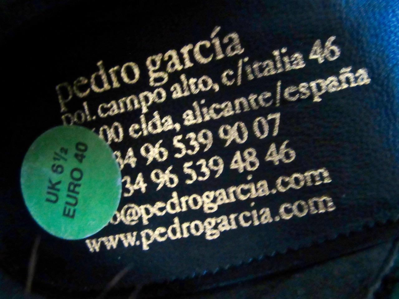 PEDRO Garcia /40 nero seta di raso raso di da sera piumato Vamp Peeptoe   7bb91f