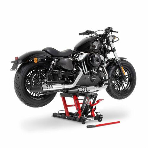 Motorrad Hebebühne L für Triumph Rocket III Touring rot-sw Scherenheber