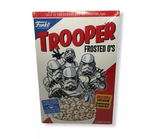 Size FUNKO Star Wars TROOPER FROSTED O'S Small On Included T-shirt
