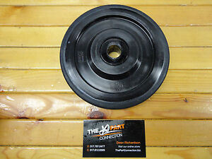 """ARCTIC CAT BLACK PPD OEM 6.380"""" IDLER WHEEL WITH BEARING FITS LOTS OF MODELS"""