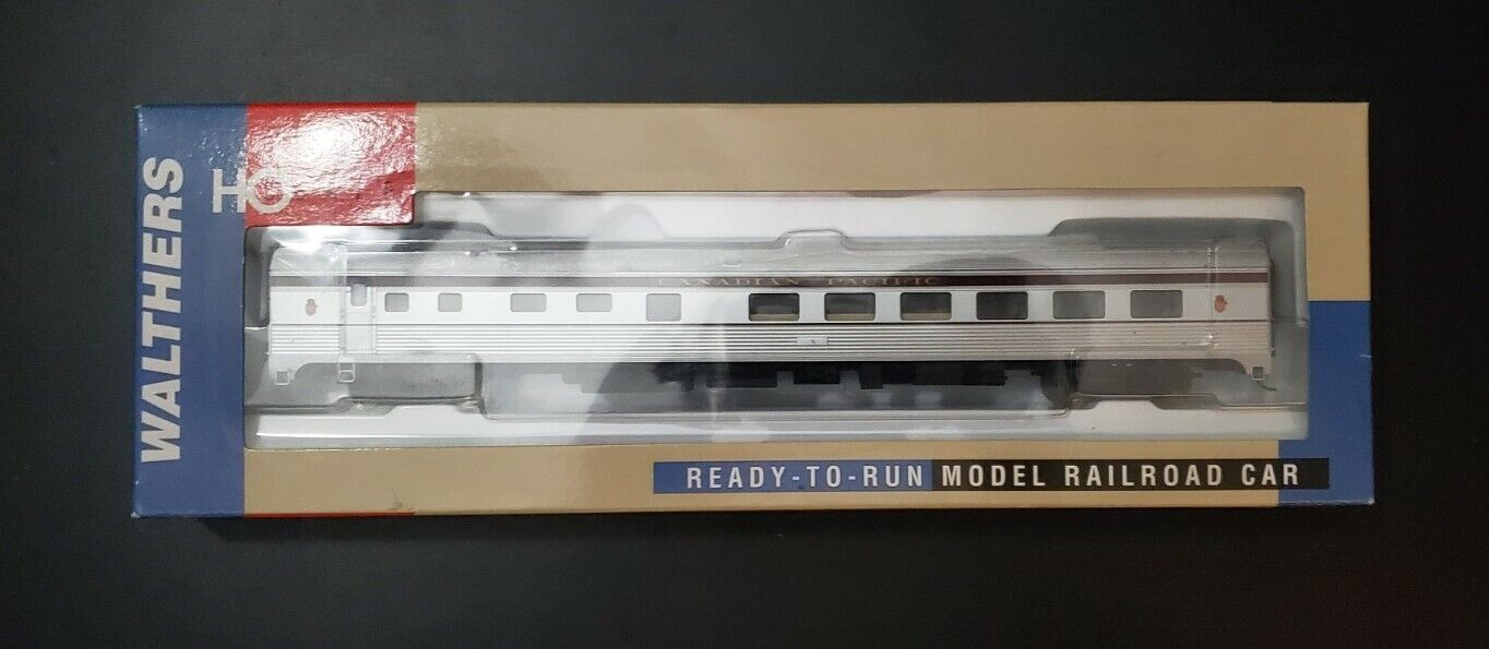 Walthers 85' Budd Grill-Diner HO calibre Canadian Pacific MIB Oferta