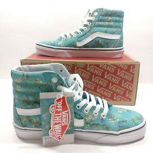 684900b5049 Details about VANS SK8 Hi Vincent Van Gogh Almond Blossom Multi Color Shoes  VN0A38GEUBL Size