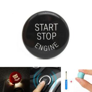 Black-Engine-Start-Stop-Switch-Button-Cover-For-BMW-E60-E70-E71-E90-E91-E92-E93