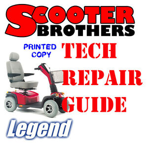 ultimate service guide for pride legend scooter technical repair rh ebay com Pride Legend 3 Wheel Scooter Pride Mobility Revo Scooter Manual