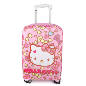 Hello-Kitty-Luggage-Protective-Cover-Case-Soft-Travel-Trolley-Suitcase-Dust-Bag