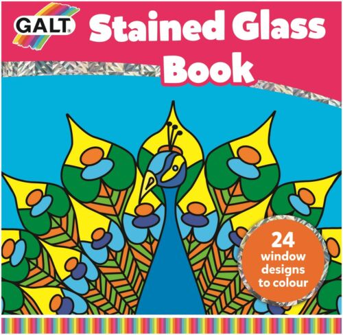Galt vidrieras libro Kids Art Craft Juguete BN