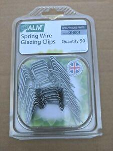 ALM Serra Wire della molla clip vetrata Confezione da 50
