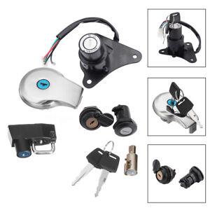Ignition-Switch-Lock-amp-Fuel-Gas-Cap-Key-Set-For-Yamaha-Virago-XV125-XV250-AU5