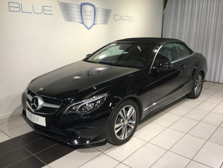 Mercedes E200 2,0 Cabriolet aut. 2d - 599.000 kr.