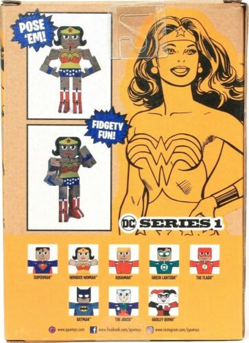 Details about  /One Wood Warriors DC Series 1 Pose /'Em Fidgety Fun Wonder Woman Ages 3 /& Up
