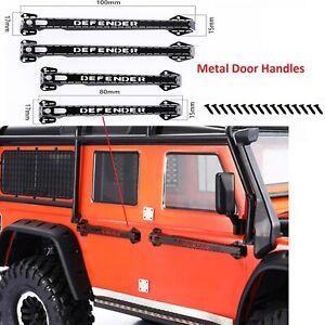 Metal-Door-Handles-Guard-for-1-10-Defender-Traxxas-TRX4-D90-D110-RC-Crawler-Car
