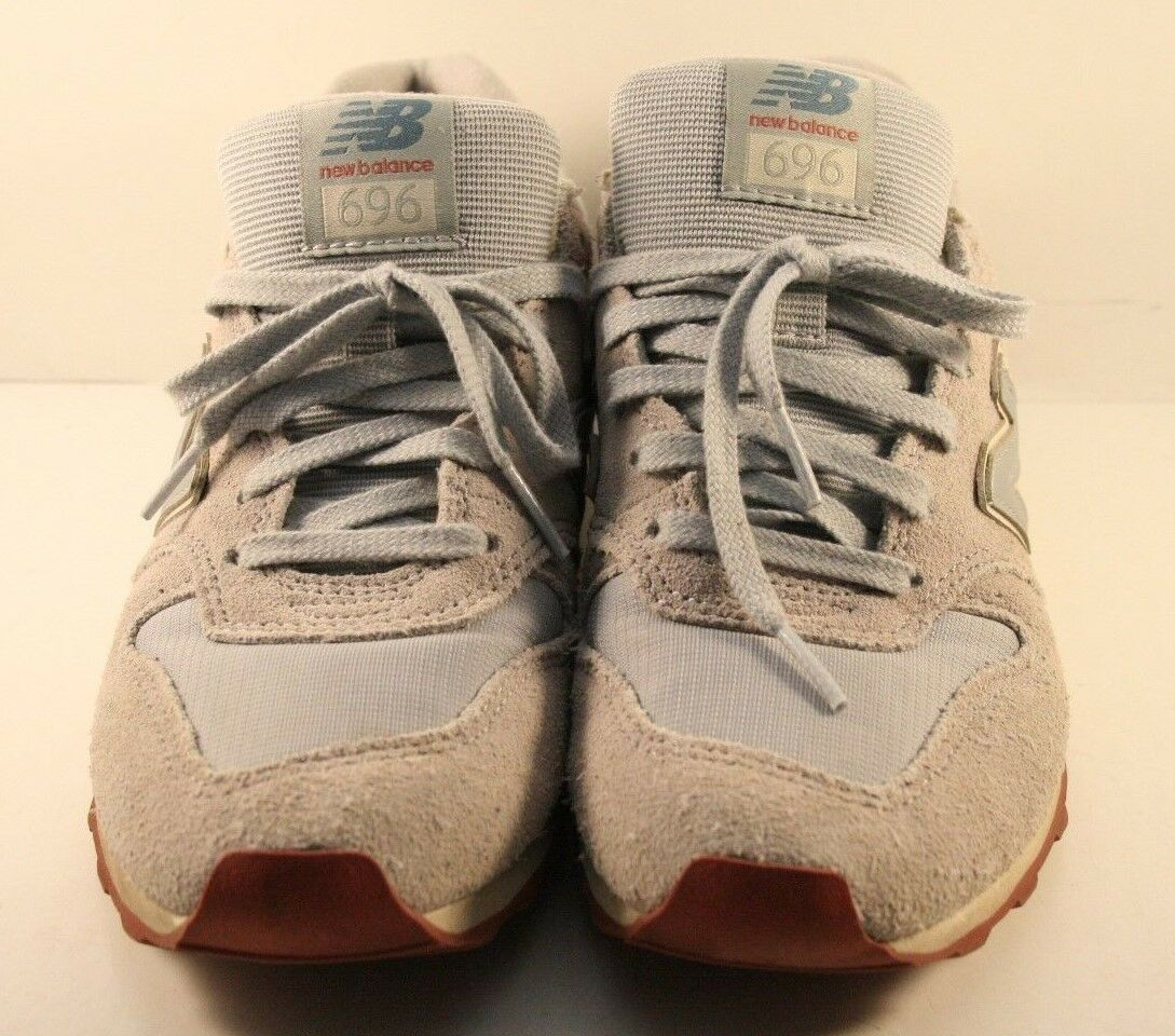 New Balance Model WL696CCA Silver Mink Running Shoes Womens Size US 7.5M