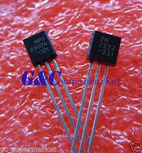 500PCS-Transistor-TO-92-2N2907-2N2907A-NEW-GOOD-QUALITY