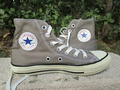 CONVERSE ALL STAR gris grise toile pointure 36 (US 3,5 3 12) | eBay