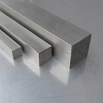 L: 350mm Edelstahl Vierkant VA V2A blank h11-12x12mm 35cm auf Zuschnitt
