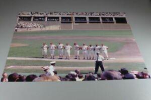 St. Louis Cardinals 1968 World Series Game 1 Starting Lineup 11x14 Photo