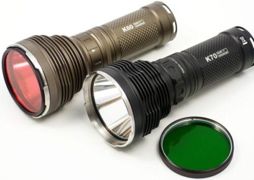 Acebeam FR10 Filtre Blanc//diffuseur LENTILLE pour acebeam K60 /& K70 lampe de poche NEUF
