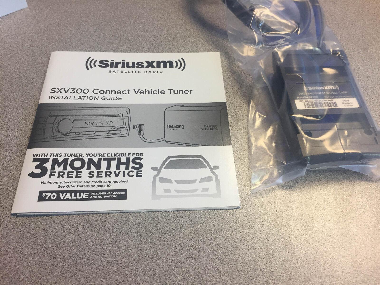 Xm satellite radio hook up