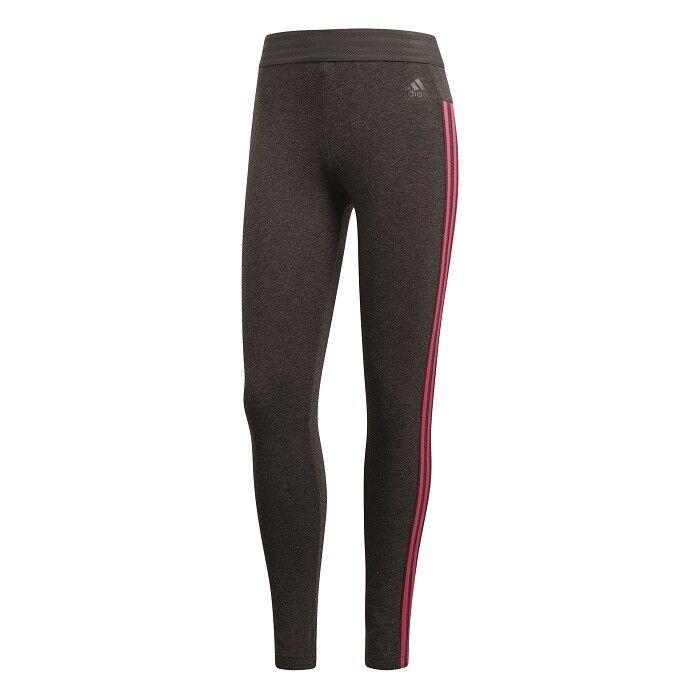 Adidas Essentials 3 Stripes Tight Fitness Run Training Trousers Cz5762