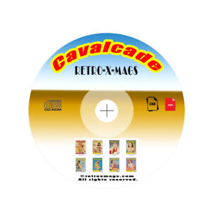 Cavalcade-Magazines-65-Issues-Collection-On-CD-ROM-Disc-Vintage-Retro-X-Mags