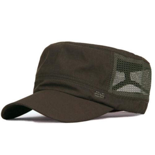 Herren Militär Mesh Cap Kappe Trucker Sommermütze Basecap Snapback Mütze Hüte