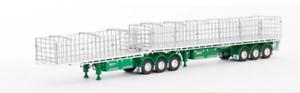Wsi Zt09170 Échelle 1:50 Doolan Freighter B Double Set