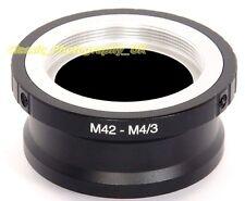 M42 Screw to OLYMPUS Panasonic LUMIX SONY Micro 4/3 Adapter ZEISS Lenses on 4/3