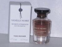 Vanille Noire Yves Rocher Mini Eau De Parfum 0.17 Oz/ 5 Ml. With Box