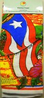 Beautiful Puerto Rico Kitchen Towel 24x15