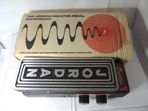 Rare-Jordan-Creator-Model-6000-Volume-Sustain-Fuzz-Effects-Pedal-w-Original-Box
