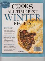 Cook's Illustrated All-time Best Winter Recipes Magazine 2016 Collectors Edition